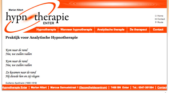 Hypnotherapie Enter